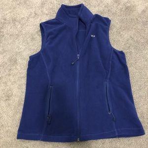 Vineyard Vines fleece vest. Size small